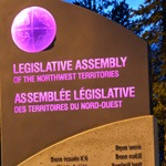 NWT Legislature Sign