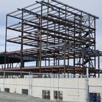 Steel construction of hospital in NWT